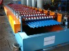 Aluminum corrugated sheet panel roll forming machine