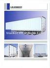 aluminium alloy semi trailer,cheap semi trailer tanker for the transportation of oil