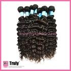 "Popular, 100% Brazilian remy virgin human hair weaving, Deep curl, natural color 16""-30"" available"
