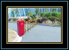 Double-Fence Barrier Gate ,traffic barrier for parking system