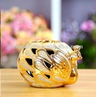 Wedding gift peacock candle holder 17110