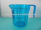 1000ML transparent PS plastic measuring jug