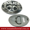 plain design police handcuffs belt buckles for men
