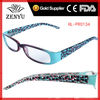 [Fashion]mens womens 2013 wholesale cheap designer reading glasses with colorful speckled frame for promotion to 2 dollar shop