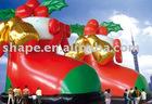 inflatable christmas cartoon