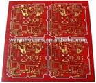 Double-sided gold pcb board,6 layer pcb board