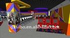 GM decoration of indoor game center