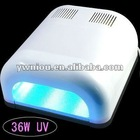 36w finger gel uv nail lamp