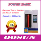 2600mAh External USB Power Bank for Smart Devices
