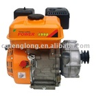 Forced ai-cooling singlecylinder Gasoline Engine with clutch