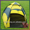 3-4 person double skin outdoor tent pull entrance