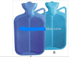 blue 2000ml Hot Water Bottle With Handle