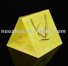 beautiful cake yellow paper bag