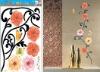 Vintage Style Flower Wall Sticker (Item: HL5608)