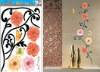 Vintage Style Flower Wall Sticker (Item: HL5608)