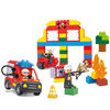 Educational fire-fighting blocks set for children