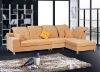 Best selling yellow fabric arabic modern living room sofa