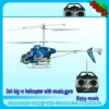 NEW!with light and music 3.5 channel gyro helicopter
