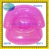 Factory hot sale Plastic pvc air Inflatable baby chair for kids