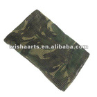 Fashionable and Durable military Wool Mesh Scarf Shawl