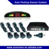 LED Auto Parking Sensor System - 4 Sensor - Black 1