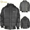 Men's puffer winter jacket