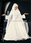 2013 Gorgeous Islamic Wedding Dress