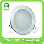 18W led down light, ceiling light led, 8 inch round ceiling light