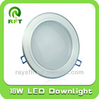 18W led down light, ceiling light led, 8 inch round ceiling light
