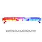 Tri- color LED Lightbar, changeable color police lightbarTBD-8100H/RYB