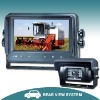 "7"" car system with waterproof monitor"