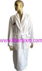 big size fleece bathrobe SPA white bathrobe
