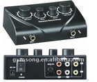 HD-N3 black Karaoke sound mixer