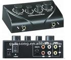 HD-N3 black Karaoke sound mixer