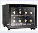 Semiconductor electronic wine cooler with 8 bottles