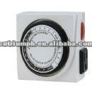 Dual outlet 24hrs timer,grow light timer