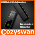 Cozyswan MK809 Android 4.1 Dual Core Mini TV Box