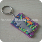 Seal Rubber PVC Key Chain