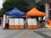 3MX3M advertising gazebo