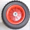high quality rubber wheel-pu foam wheel