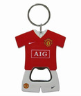 football clothes bottle opener