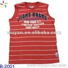 wholesale sports fashion sleeveless T-shirts for men