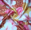 Digital Printing Fabric in flower pattern 0903106