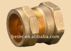 Brass Compression Fitting For Copper Pipe (Straight Female)