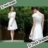SC0011 One Strap Appliqued Graceful Short Party Dresses New Fashion 2012