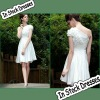 SC0011 One Strap Appliqued Graceful Short Party Dresses New Fashion 2012