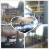 continuous used plastic pyrolysis machinary and cap of 15-20 T/D