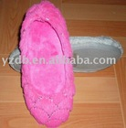 after party shoes-super-soft velour sidekicks ballet flat shoes