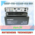 Original Skybox F3 satellite receiver Skyobx F3 HD 1080p support usb wifi cccam newcam YouTube YouPorn free shipping