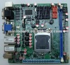 Dual LANs Motherboards based MINI-ITX support 6 RS232